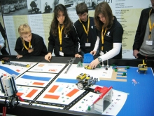 FIRST LEGO LEAGUE robot competition in Germany