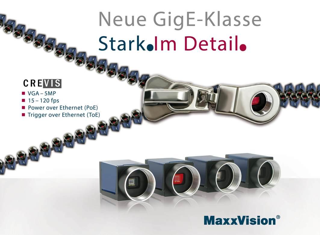 GigE Kameras mit PoE und ToE