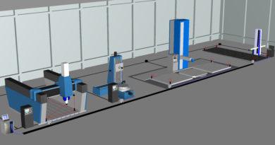 Fabrikweites metrologisches Netzwerk verwandelt Werkzeugmaschinen in hochpräzise Messsysteme.