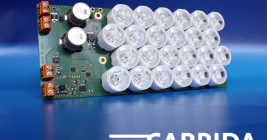 Infrared lighting module VC Flash for ITS applications
