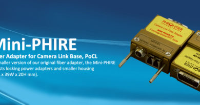 Mini-PHIRE Camera Link Fiber Adapter Now Available