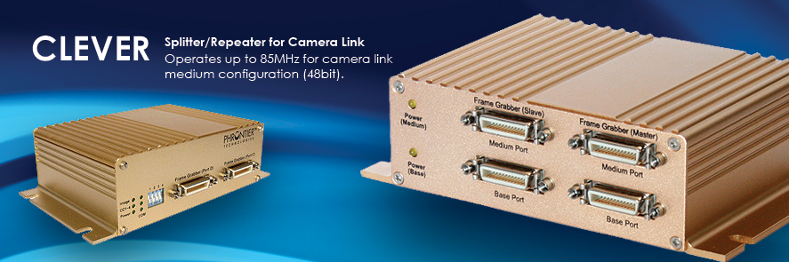 Clever Camera Link Splitter Repeater Switch Machine Vision