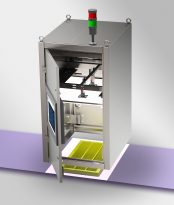 Camera-based empty mould check for any confectionery production line